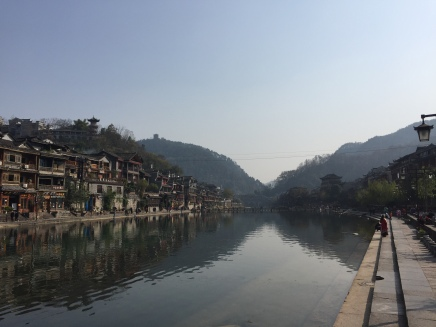 View of the Tuojiang River